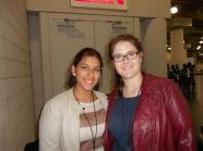 My Comic Con friend, Michelle
